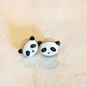 Jewelry - Panda earrings